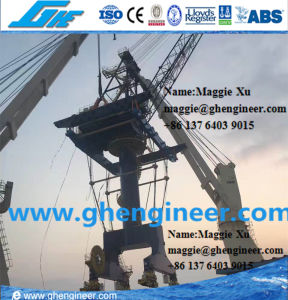 400tph Clinker Gypsum Unloading Machine Port Jetty Crane pictures & photos