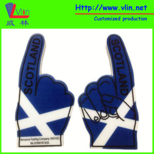 Cheering Big Foam Hand with United Kingdom National Flag pictures & photos