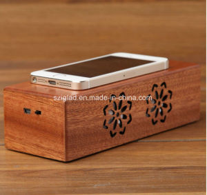 High Quality Wooden Sensor Induction Touch Speaker pictures & photos