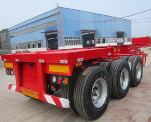 20 Feet Container Truck Semitrailer pictures & photos