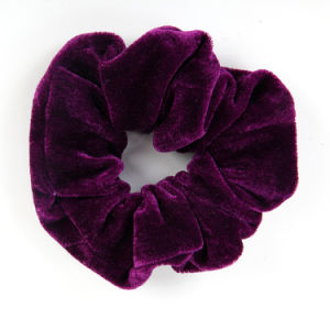 Colorful Fabric Hair Scrunchies for Girls