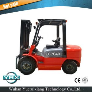 4 Tons Mechanical Diesel Forklift pictures & photos