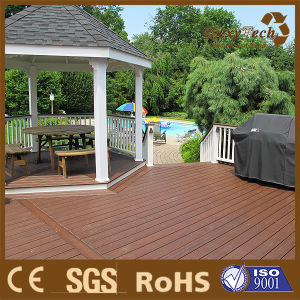 Wood-Plastic Composite WPC Coextrusion Non Slip Outdoor Compoite Decking pictures & photos
