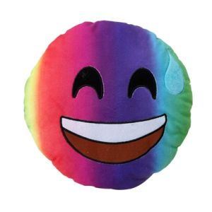 8inch Colorful Stuffed Emoji Toys for Children pictures & photos