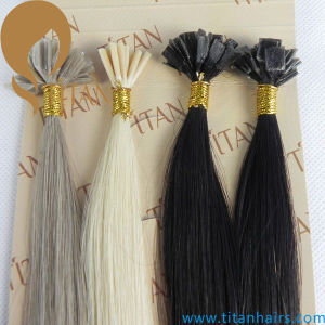Light Blond Brazilian Virgin Remy I Tip Hair Extension pictures & photos
