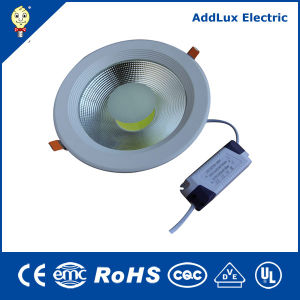 Ce RoHS 10W 20W 30W Dimmable COB LED Downlight pictures & photos