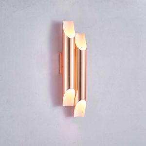 So Wonderful Design Aluimium Modern Hotel Wall Light Lamp in Rose Gold pictures & photos
