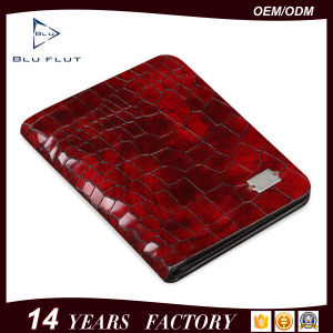 Fashion Genuine Grain Red Leather Mini Pocket Wallet Purse Men pictures & photos