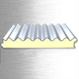 Aluminium - Zinc Coated Color Steel Insulated PU Sandwich Panel pictures & photos