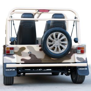 Desert Camouflage Electric Tourist Coach Sightseeing Car pictures & photos