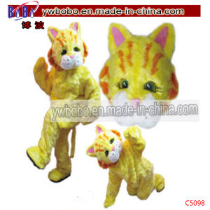 Tiger Adult Halloween Cartoon Mascot Costume Fancy Dress (C5098) pictures & photos
