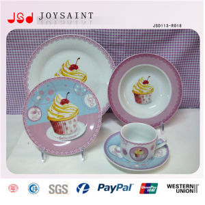 European Fashionable with FDA / BPA Free PS Disposable Porcelain Cheap Bulk Dinner Plates pictures & photos