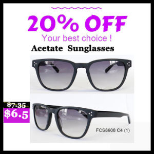 Acetate Eyewear Made in China with Fashion Shapes pictures & photos