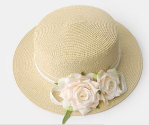 Women′s Floral Boater Hat pictures & photos