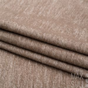 Wool/Cotton Fabric for Autumn or Winter Coat in Khaki pictures & photos