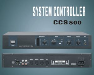 Chairman Unit / Delegate Unit Meeting System, System Controller pictures & photos