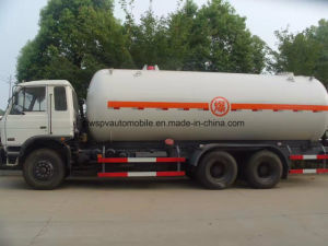 25000L LPG Transport Truck 25 M3 Cbm Gas Tanker for Sale pictures & photos