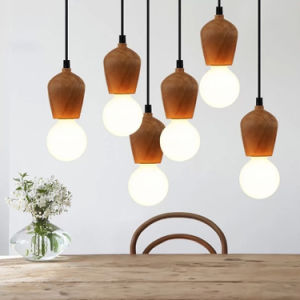 Creative Modren Wood Pendant Lights pictures & photos