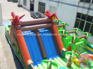 Jurassic Theme Inflatable Playground for Children pictures & photos