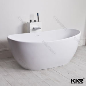 Luxury White Stone Resin Massage Bathtub Freestanding (BT170816) pictures & photos