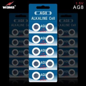 1.5V 72mAh Alkaline Button Cell Battery AG9