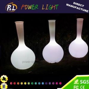 Waterproof Home Furniture Decorative Glow Vase Colorful LED Vase pictures & photos