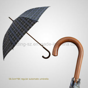 Classic Chequer Regular Automatic Umbrella pictures & photos