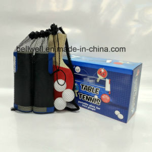Portable and Retractable Table Tennis Net Set Table Tennis Racket pictures & photos