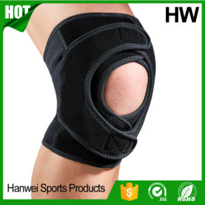 Profession Outdoor Sport Running Basketball Knee Support (HW-KS032) pictures & photos