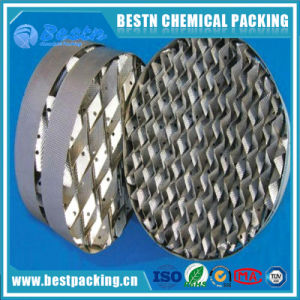 Ss304 /316L Metal Wire Gauze Packing Structured Tower Packing pictures & photos