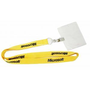 OEM High Quality PVC Card Pouch with Neck Strap pictures & photos