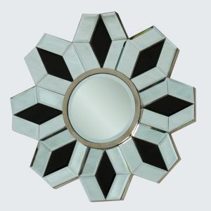 Decorative Wooden Wall Mirror Frame Round Shape pictures & photos