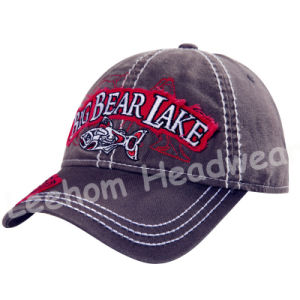 3D Embroidery Custom Sports Golf Cap pictures & photos