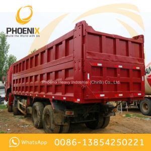 Low Price Used HOWO Dump Truck Tipper 12 Wheels 371HP 40tons Good Condition for Africa pictures & photos
