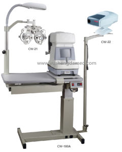 Hot Sale Combined Table Ophthalmic Unit Optical Instrument pictures & photos