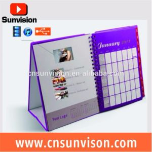 Business Gift Marketing Brochure LCD Digital Calendar Planner pictures & photos