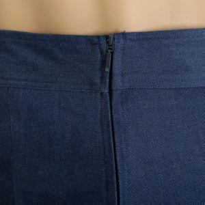 Us Plus Size Ladies Denim Long Pants pictures & photos