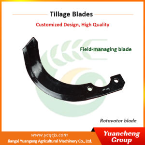 Yuancheng L Type Long Rotary Tiller Blades pictures & photos