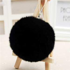 Fur Pompon Keychain Bag Hanging pictures & photos