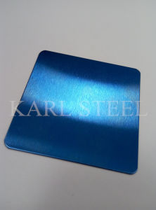 High Quality 410 Stainless Steel Color Ket006 Etched Sheet pictures & photos