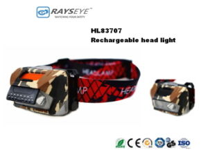 High Power Dual Light Headlight Fish Light with Red Light pictures & photos