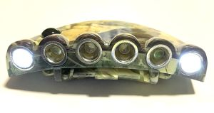 Camouflage 6 LEDs Visor Light for Hunting Fishing pictures & photos