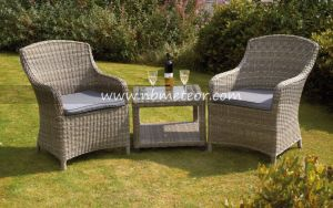 Aluminum Patio Hotel Outdoor Garden Furniture Rattan Bistro Set pictures & photos