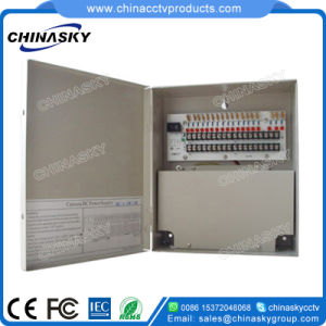 12VDC 18 Port Power Supply Box for CCTV Cameras (12VDC10A18PN) pictures & photos