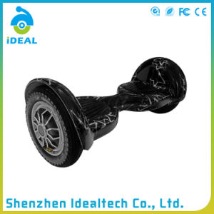 Unfolded 10 Inch Two Wheel Self-Balance Electric Stand Scooter pictures & photos