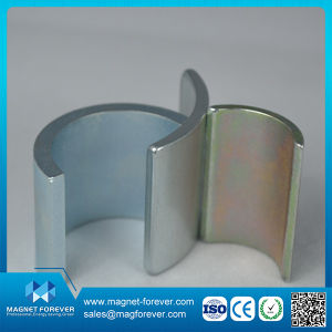 High Quality Permanent Sintered NdFeB Neodymium Arc Magnet pictures & photos