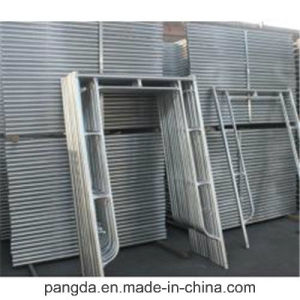 Hot DIP Galvanized Frame Scaffolding Made in China pictures & photos