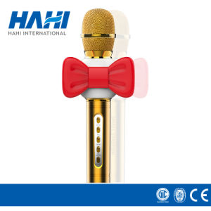 High Quality Wireless Bluetooth Karaoke Condenser Lapel Microphone pictures & photos