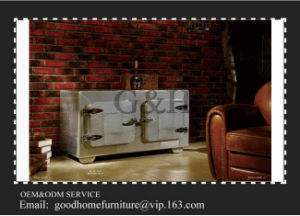 Metal Frame Rustic Aluminium Side Cabinet pictures & photos
