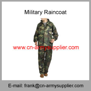 Reflective Raincoat-Security Raincoat-Traffic Raincoat-Army Raincoat-Military Raincoat-Police Raincoat pictures & photos